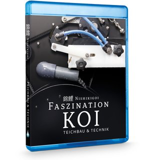 Nishikigoi | FASZINATION KOI - Teichbau & Technik - BluRay Teil 2 Ratgeber Video - Koi / Teich / Japan